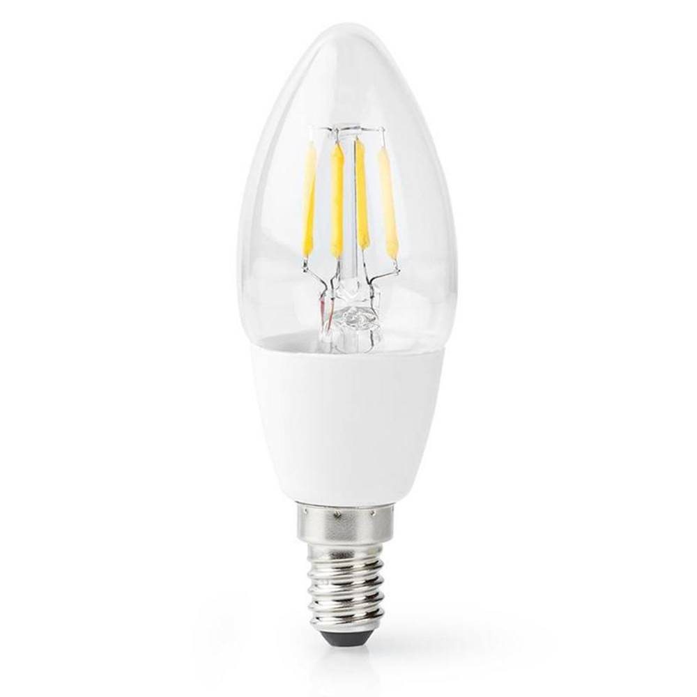 Nedis Inteligentná žiarovka Nedis svíčka, Wi-Fi, 5W, 400lm, E14, teplá