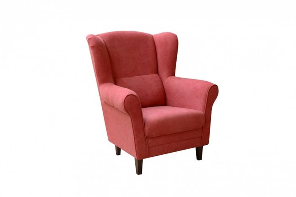 OKAY nábytok Kreslo ušiak Casis červená