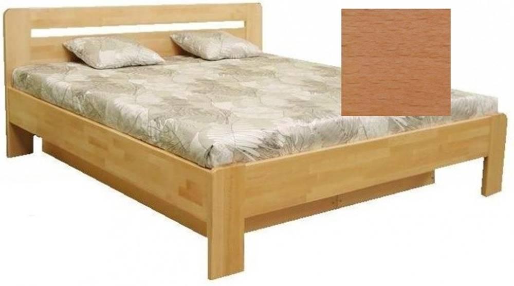 OKAY nábytok Drevená posteľ Kars 2, 180x200, vrátane roštu a úp,bez matracov