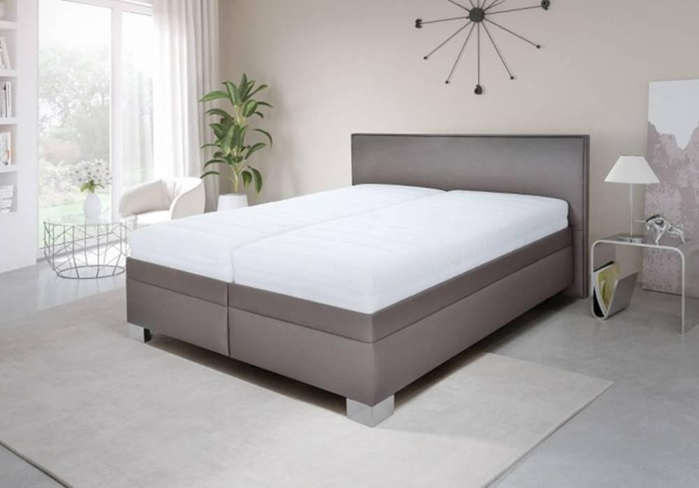 OKAY nábytok Čalúnená posteľ Grand 180x200 vrát. pol.roštu a úp,bez matracov