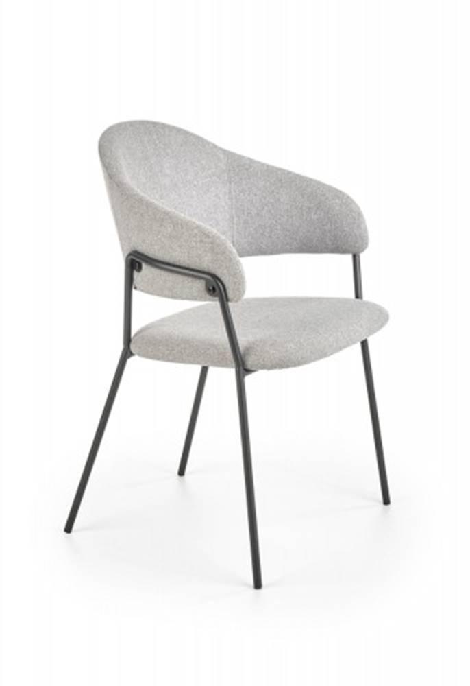OKAY nábytok Jedálenská stolička Amaga sivá