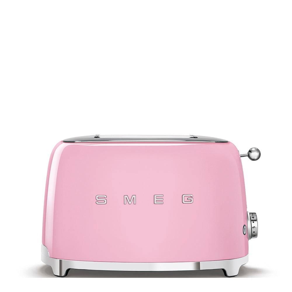 SMEG Ružový sendvičovač SMEG