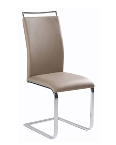 Jedálenská stolička  svetlohnedá BARNA NEW