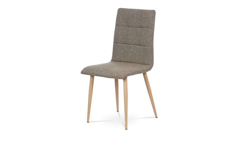Sconto Jedálenská stolička IDA sivá/buk