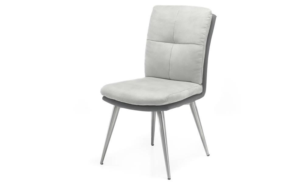 Sconto Jedálenská stolička EMILY sivá